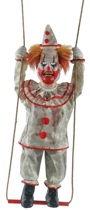 Swinging Happy Clown Prop