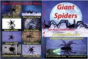 Giant Crawling Spiders DVD