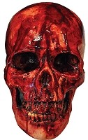 Blooody Skull Resin Prop