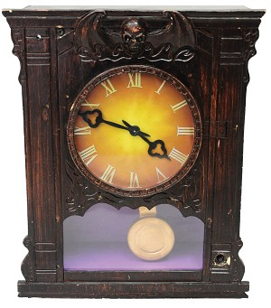 Animated Antique Clock Prop