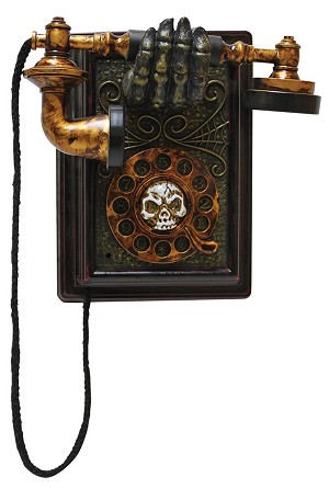 Haunted Animated Phone Prop