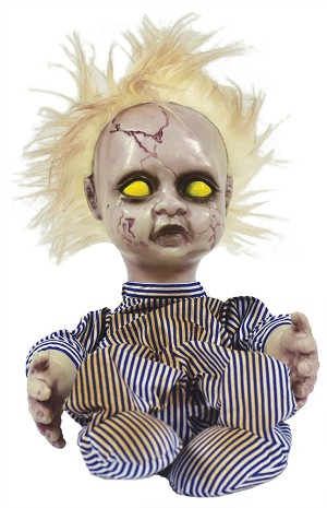 Creepy Doll Animated Prop