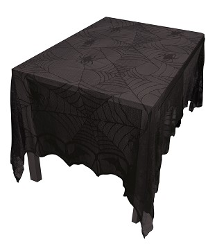 Spooky Lace Table Cloth