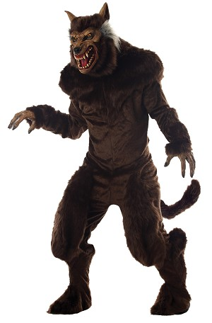 OPEN BOX- Deluxe Werewolf Adult Costume