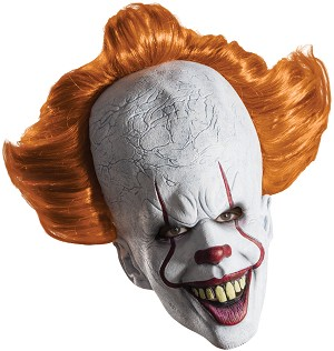 Pennywise IT Deluxe Mask