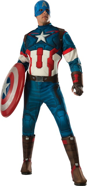 Captain America Standard Muscle Suit Costume