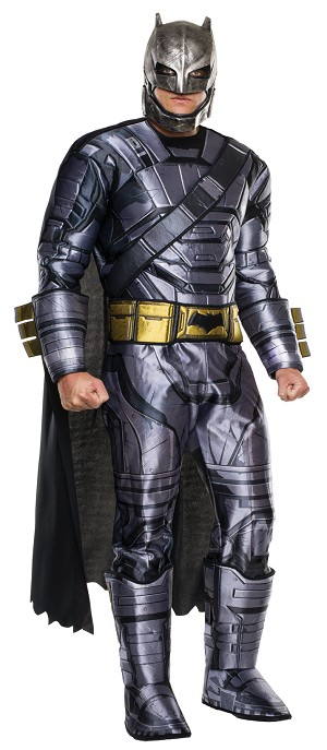 Dawn Of Justice Batman Armored Adult Costume