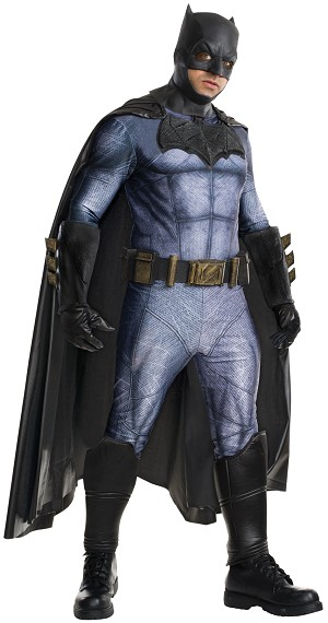 Dawn Of Justice Batman Grand Heritage Deluxe Adult Costume