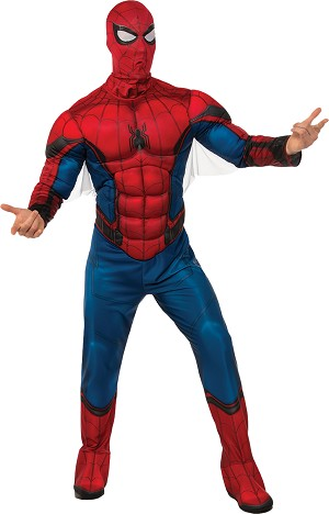 Spiderman Adult Deluxe Costume