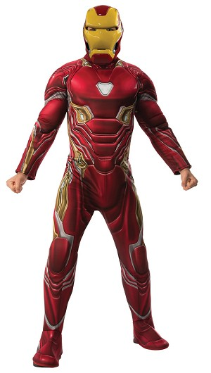 Iron Man Adult Standard Costume- Marvel
