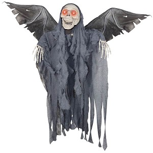 4 FT Animated Winged Reaper