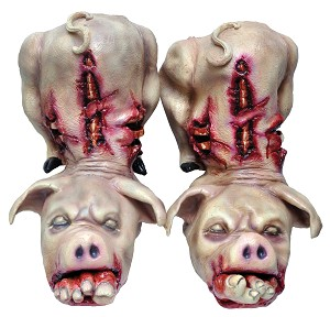 Butcher Shop Pig Boots (Pair)