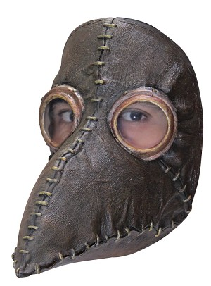 The Plague Doctor Latex Mask
