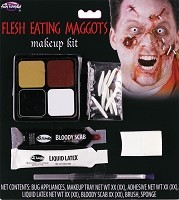 Flesh Eating Maggot Makeup Kit