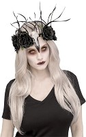 Zombie Raven Queen Headdress