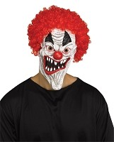 Freakshow Fangs Clown Mask