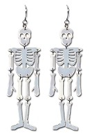 Reflective Skeleton- Earrings