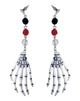 Skeleton Hand Drop- Earrings