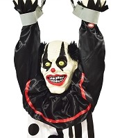 Animated Hanging Clown Prop