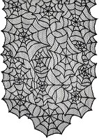 Spooky Lace Table Runner
