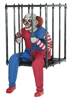 Caged Clown Animated Actor Prop