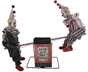 See Saw Clowns Animated Prop