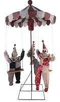 Clown Go-Round Animated Prop