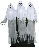 Haunted Ghost Trio Animated Prop