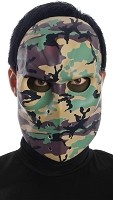 Camo Hockey Mask