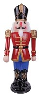Animated Nutcracker Red/ Blue 36
