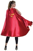 Deluxe Supergirl Adult Cape