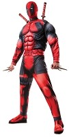 Deadpool Adult Standard Muscle Suit Costume