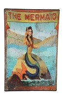 The Mermaid Carnival Sign
