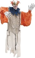 60 Inch Hanging Vintage Clown Prop