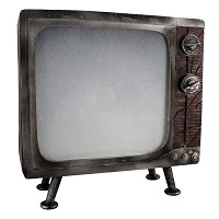 Haunted Small TV Prop