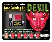 Wolfe Brothers Devil Makeup Kit