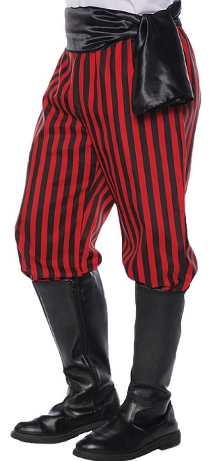 Pirate Pants- Red