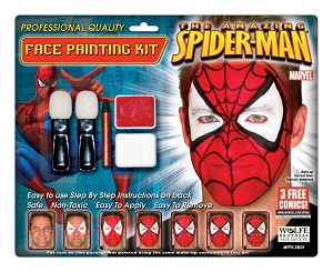 Wolfe Brothers Spiderman Makeup Kit