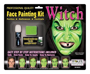Wolfe Brothers Witch Makeup Kit
