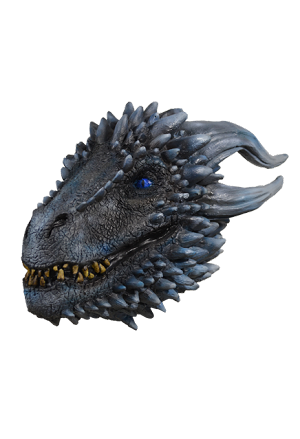 White Walker Dragon Mask- Game Of Thrones